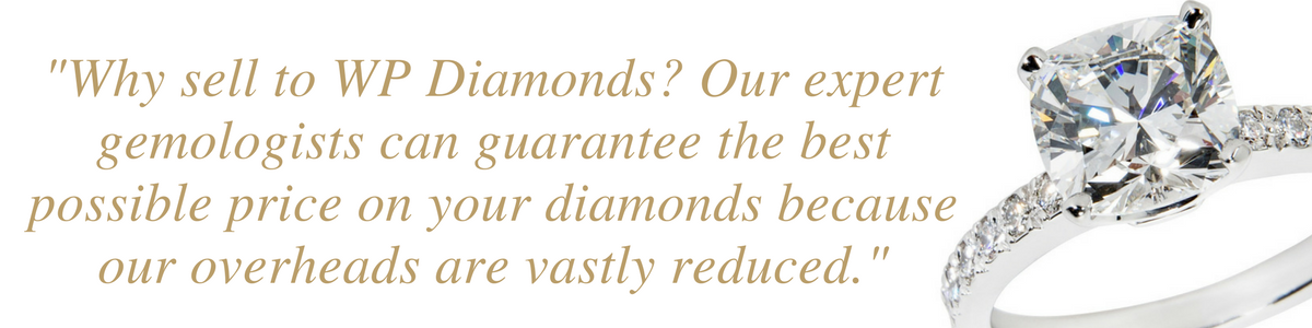 why sell diamond rings to WP Diamonds