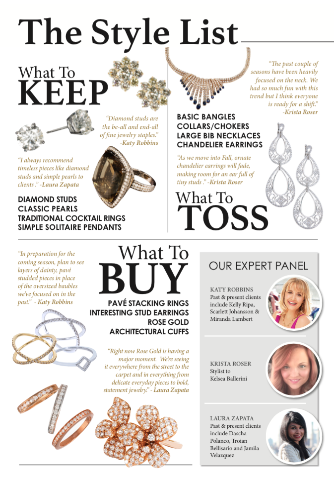So What Are The Jewelry Trend Predictions For This Year
