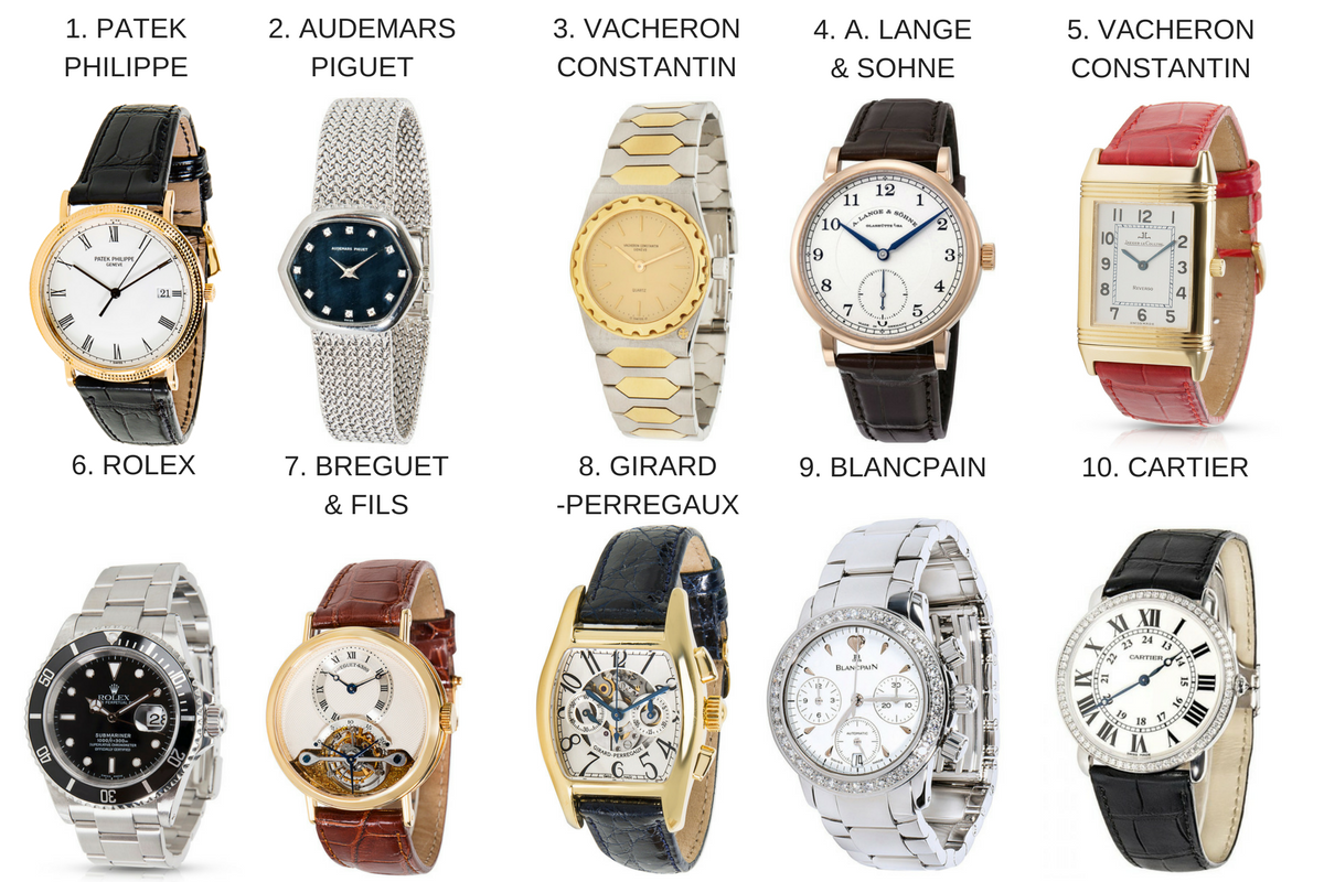 2018s top luxury watch brands