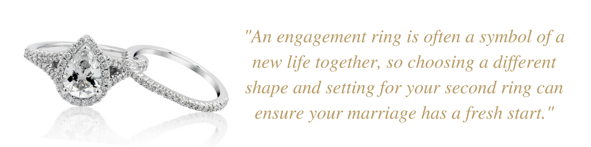 How To Choose An Engagement Ring For A 2nd Marriage